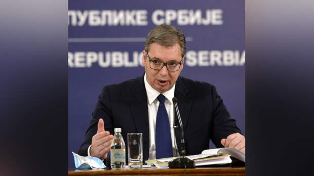 Вучич выступил перед жителями Сербии на русском языке по случаю Дня Победы