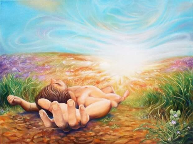 Случай исцеления в осознанном сновидении.