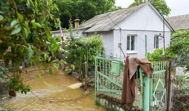 В Севастополе затопило Байдарскую долину