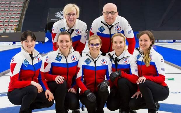 Женская сборная России по керлингу вышла в финал чемпионата мира, где сыграет со Швейцарией