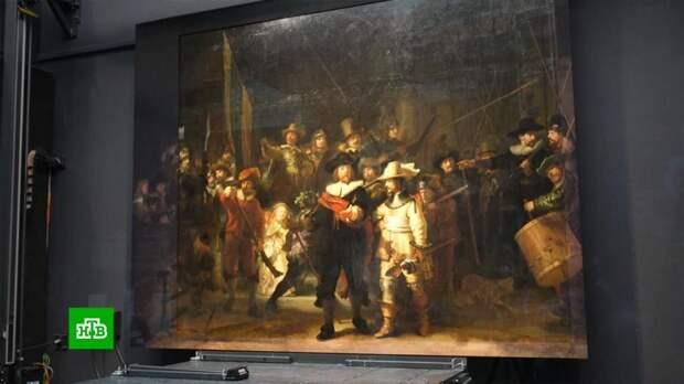 Утраченные фрагменты картины Рембрандта восстановил искусственный интеллект