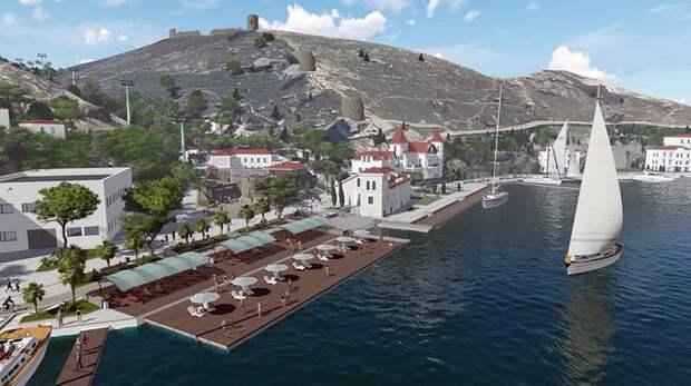 Главгосэкспертиза одобрила проект создания яхтенной марины в Балаклаве