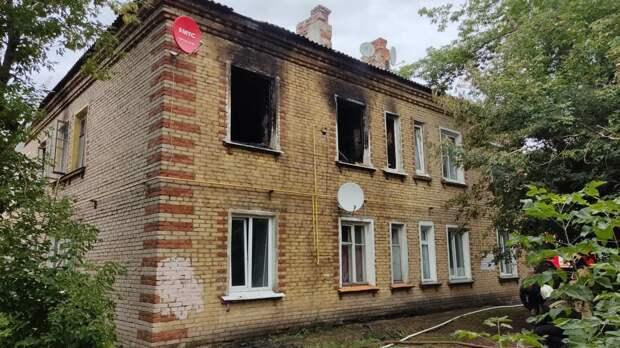 В Ижевске при пожаре в жилом доме эвакуировали 4 человек