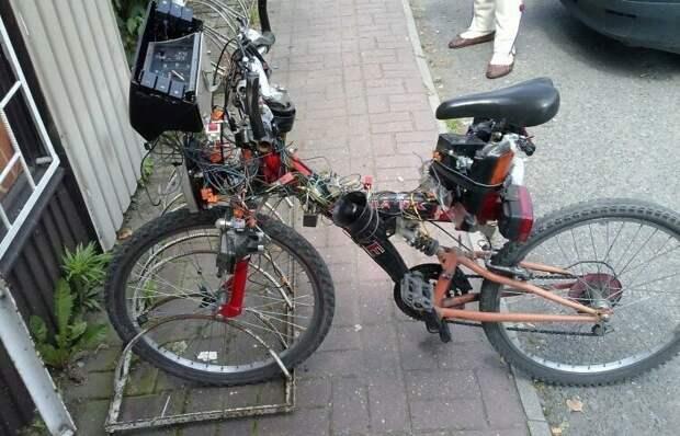 Когда куча вопросов и ни одного ответа WTF?, wtf, велосипеды, необычное, подборка, странное, транспорт