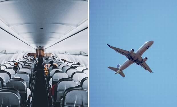 В самолете оказался безбилетник, заставивший пилотов вернуться в аэропорт