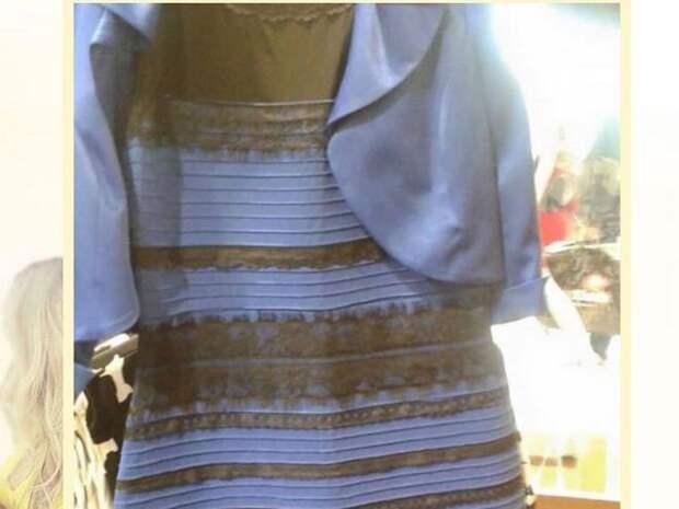вирусное фото платья