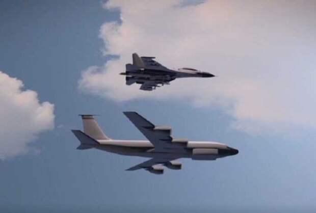 Рядом с границей РФ впервые засекли сразу 5 самолётов-шпионов НАТО