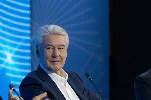 Собянин вручил премии «Прорыв года» московским предпринимателям