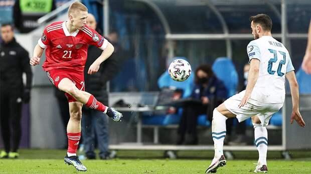 Мухин — первый игрок в истории сборной России, родившийся в 21 веке