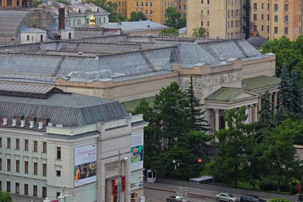 Государственный музей изобразительных искусств имени А.С.Пушкина