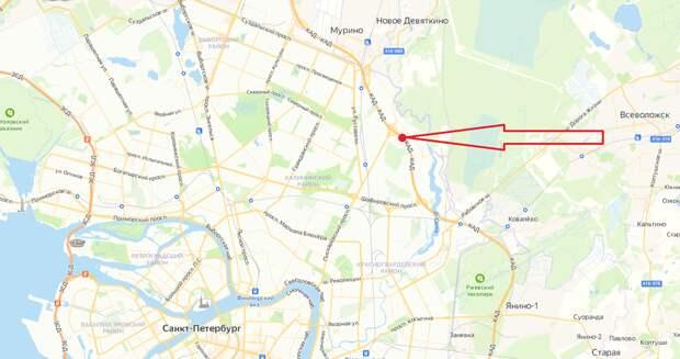 КАД между Пискаревским и Шафировским проспектами полностью перекроют