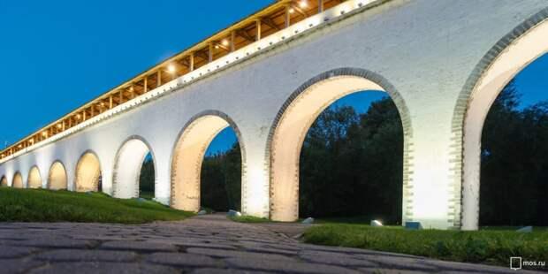 Парк Яуза проведёт экскурсию по Ростокинскому акведуку и окрестностям