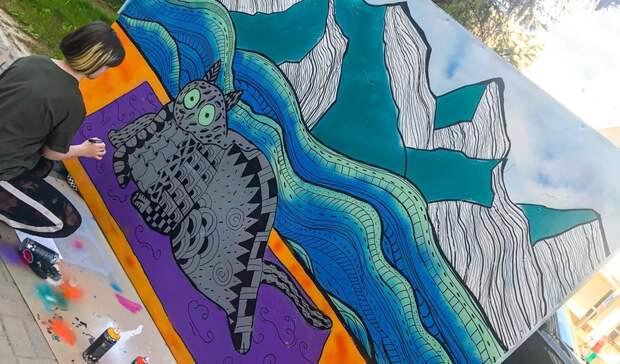 В Белгороде прошёл фестиваль граффити
