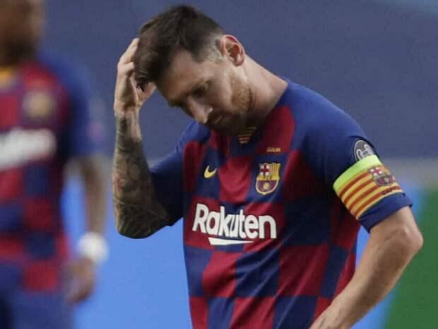 Всё, «Барселона» сказала Месси последнее «прощай»