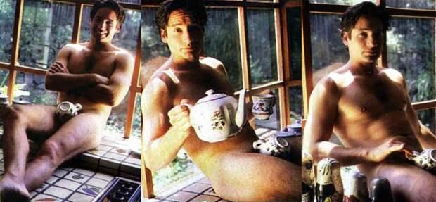 Дэвид Духовны и его секретные материалы, скрытые чайным сервизом.