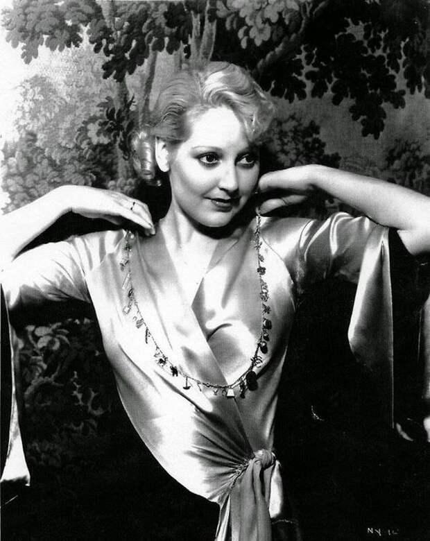Комедийная звезда немого кино Телма Тодд и ее опасные связи