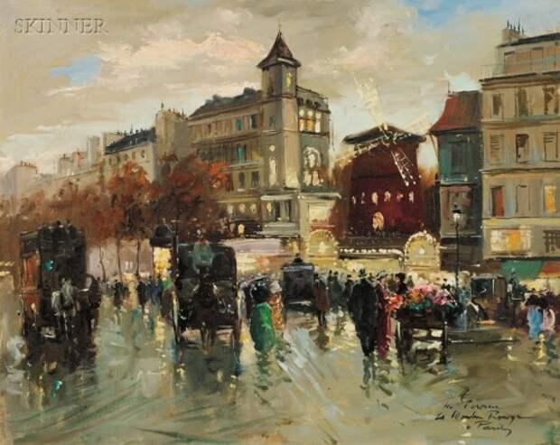 Парижские красавицы Francois Gerome (53 работ)