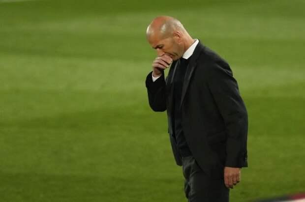 Зинедин Зидан ушел с поста главного тренера мадридского «Реала»