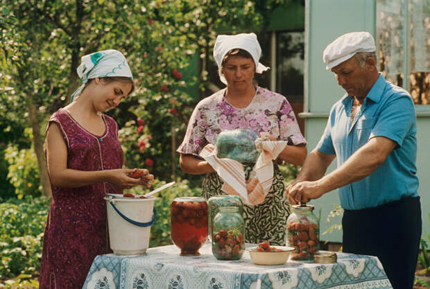 Небольшого участка земли хватало только на обеспечение собственных нужд стандартной советской семьи / Фото: social.rbth.com