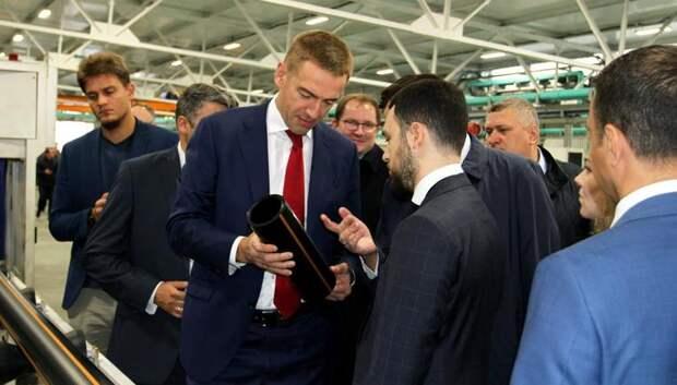 Предприятие Подольска запустило в производство новую систему маркировки трубной продукции