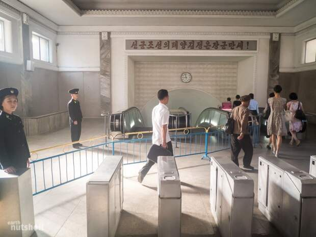 Самое закрытое метро вмире: пхеньянская подземка глазами иностранца