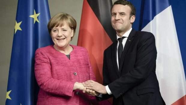 Меркель и Макрон – главные разрушители Европы. Такое не прощают
