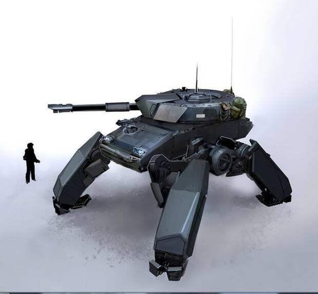 К вопросу концепции танка будущего