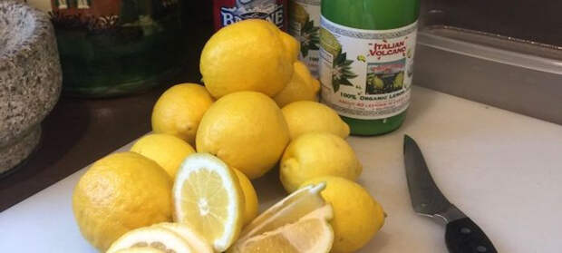 Лимоны лучше хранить отдельно. /Фото: omvesti.ru.