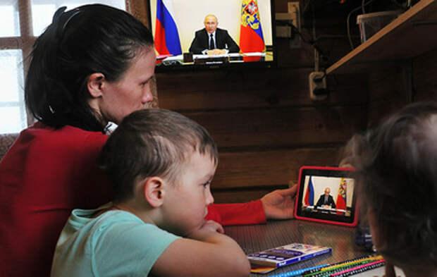 Путин призвал сделать рывок в определяющих благополучие россиян сферах