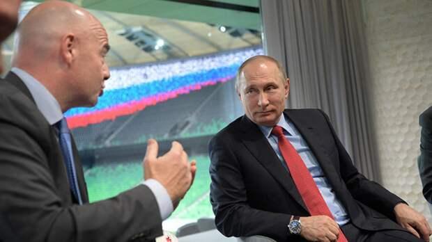 Широкий жест: Путин разрешил болельщикам Евро-2020 посещать Питер без визы