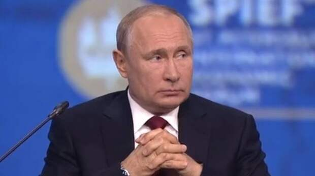 Российский президент Владимир Путин