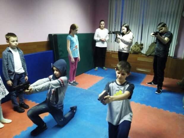 Юные скауты из Северного приняли участие в «Играх героев»