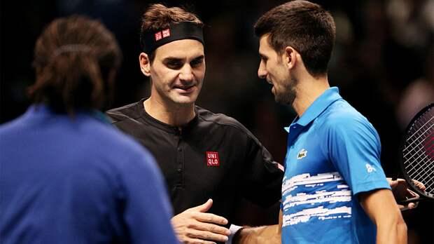 Джокович сравнялся с Федерером по количеству недель на 1-м месте рейтинга ATP