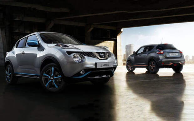 Посвежевший Nissan Juke: новые цвета и светодиоды. Уже в продаже