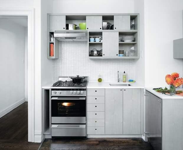 Идеи организации места на небольшой кухне