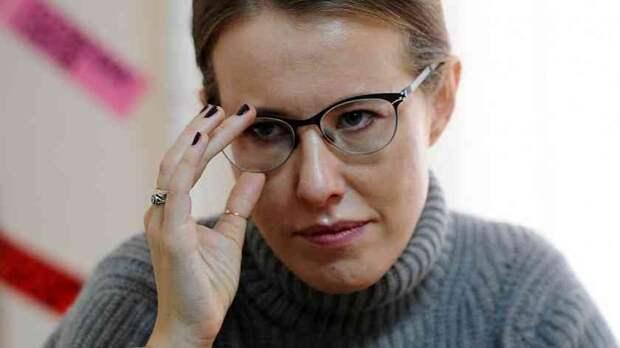 Ксению Собчак распекли из-за слишком откровенного снимка