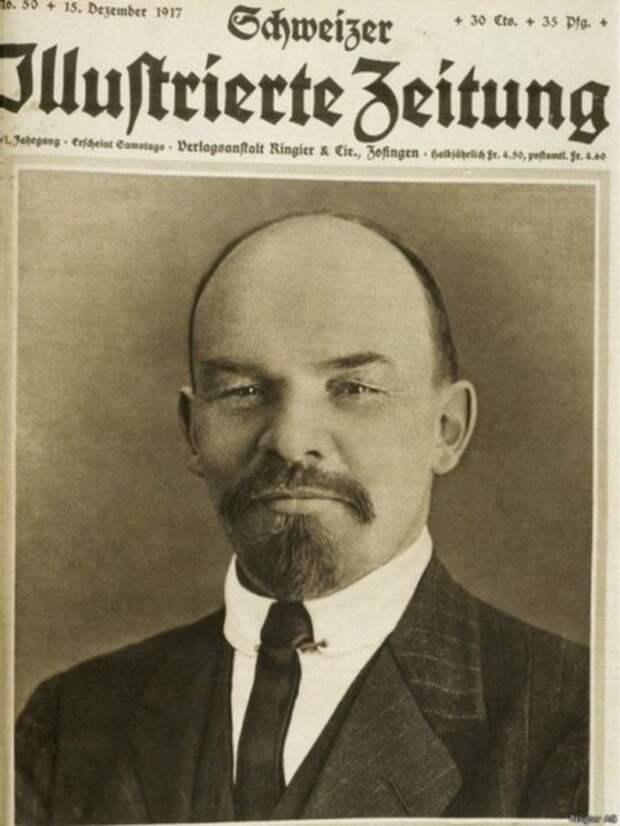 Фото 2. Николай Ленин 1917-18 года. Он же на фото 1.