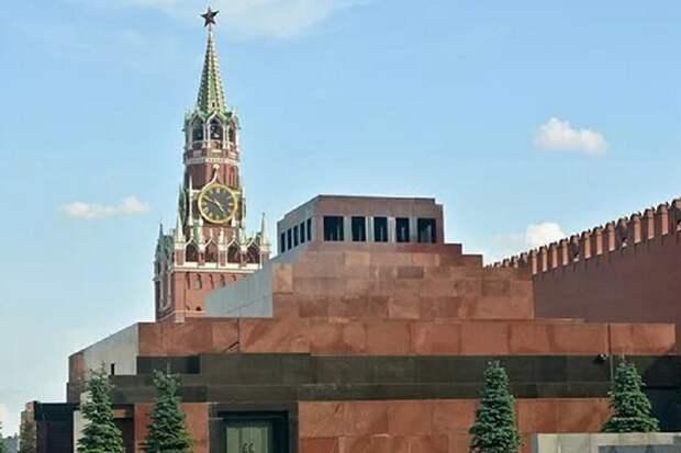 Зашторенный мавзолей Ленина – это диверсия врагов нашей страны и народа