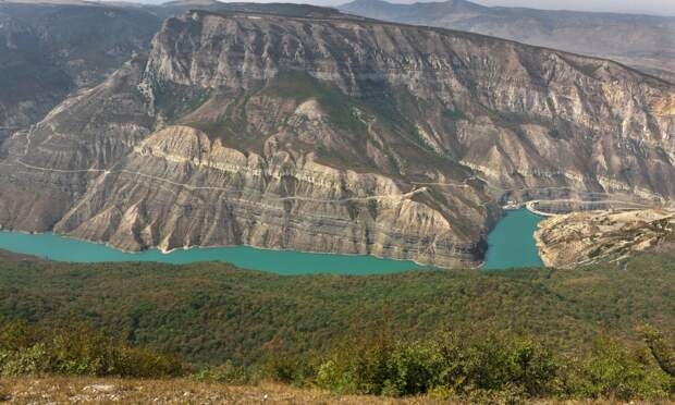 Красоты России. Наш Сулакский каньон не уступает Великому каньону!