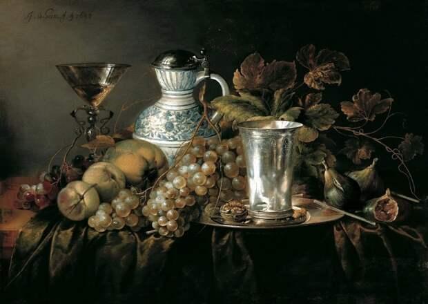 Ян Давидс де Хем — нидерландский художник и сын художника Давида де Хеема. Предположительно, ученик Бальтазара ван дер Аста голландские натюрморты, живопись, искусство, красота, цветы