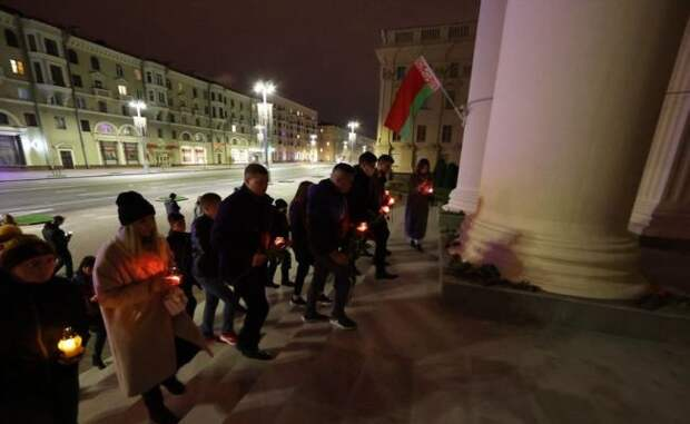В Белоруссии арестовали 136 человек за «хайп» на гибели офицера КГБ