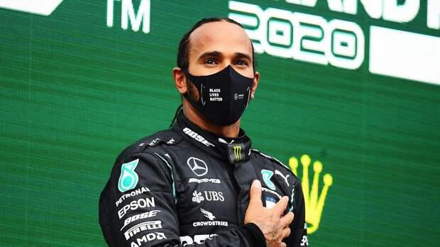 «Обещаю, что не перестану бороться за перемены». Ставший 7-кратным чемпионом Формулы-1 Хэмилтон сделал заявление