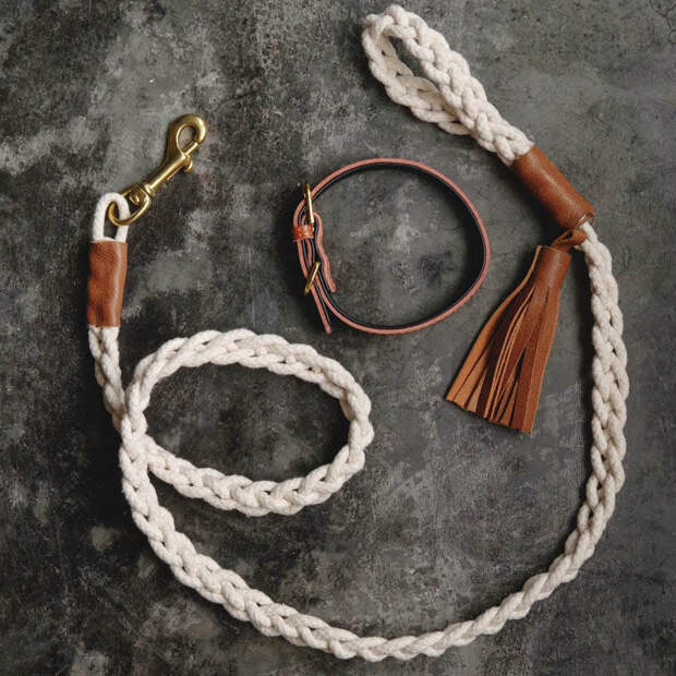 15 удивительных поделок из обыкновенной верёвки для вашего дома