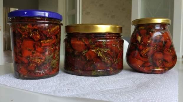 Вяленые помидорки Вяленые томаты, Кулинария, Оливковое масло, Чеснок, Длиннопост