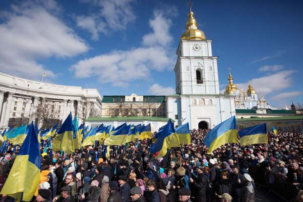 Украина, Америка и «остров Россия»