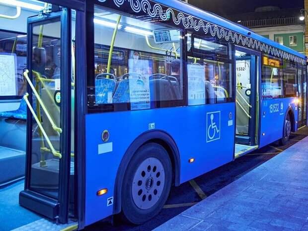 В Москве запустят новый ночной автобус Н15