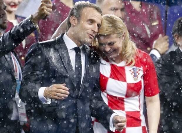 Президенты помолвлены – самая красивая лавстори мундиаля!