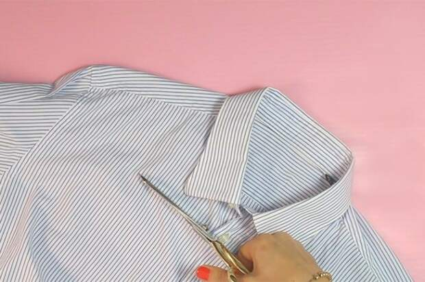 Переделки блузки (подборка)