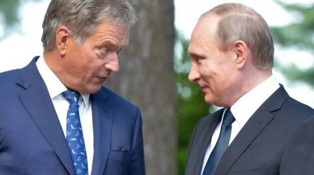 Президенты России и Финляндии