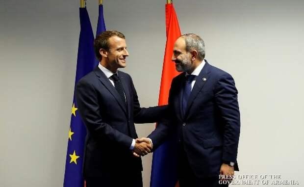 Пашинян озвучил ожидания Армении отФранции поКарабаху